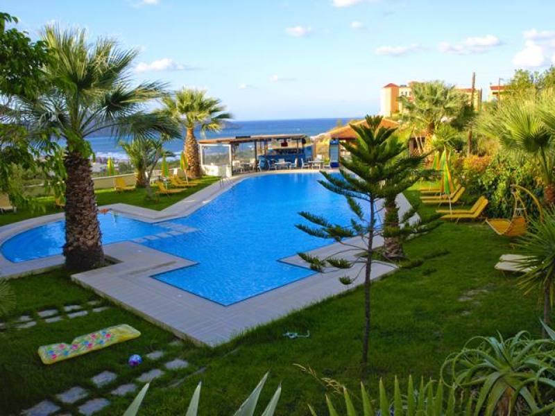 Appartementen Chrysida - Agia Marina - Chania Kreta